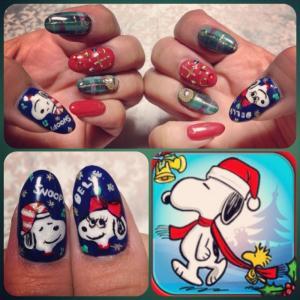 Xmas my nail