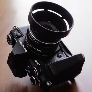 E-M5IIとF1.8単焦点