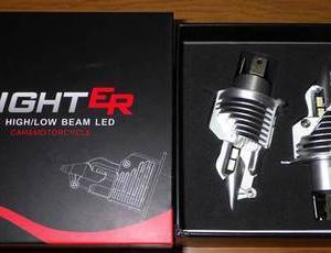ハイエースヘッドライトバルブ交換 H4 LED化