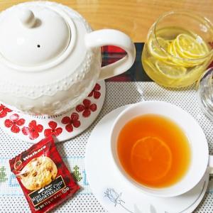 風邪予防の蜂蜜レモンティー