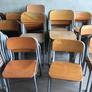 ☆閉校の小学校の椅子をリメイク!今年最後のワークショップのお知らせ☆