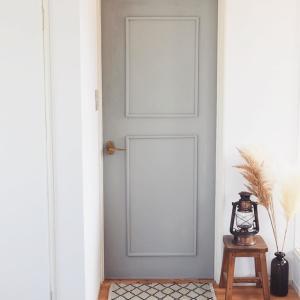 ☆ボロボロのドアをDIYで北欧風にペイントリメイク!☆