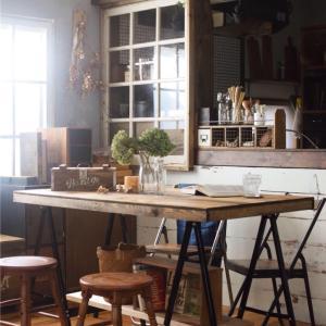 ☆大きなテーブルを買う前に今日のブログを見てください。キャンプにもお部屋にも使える!場所をとらないダイニングテーブルとローテーブルの作り方!☆