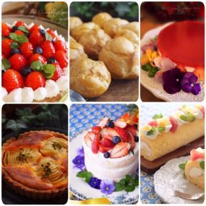 おうちですぐに作りたくなるお菓子コース(10月開講ご案内)
