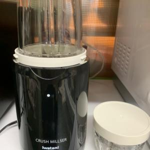 新しく仲間入りした調理家電とお家で有酸素運動