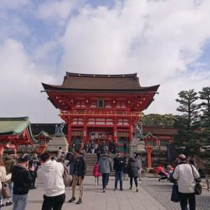 コロナウイルスの影響で、閑散とした京都散策