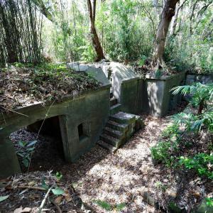 西浦砲台左翼観測所