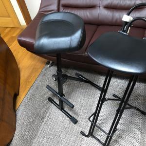 コントラバスの椅子の話 K&M 14045 の欠点は重さくらい?