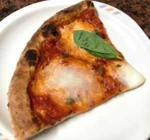 窯焼きピザと気分だけでも晴れ晴れと…