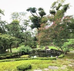 京都下鴨のお屋敷と川