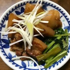 豚バラと大根の甘辛煮
