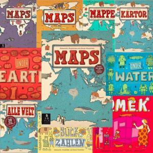 【大人のための絵本講座2020】9月11日(金)第3回は「MAPS 新世界図絵」