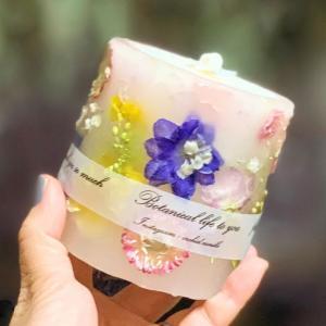 7/10(土)特別教室【ボタニカルアロマキャンドルWS orchid.candle】