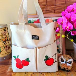 カルディの「りんごバッグ」&ビータロウ。。☆