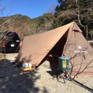 2019年 父子の会忘年会キャンプ^ ^