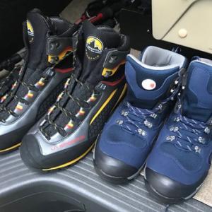 金剛山で靴慣らし(^_^)