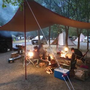 毎年恒例の父子の会キャンプ