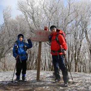 三峰山に行ってきました(^-^)v