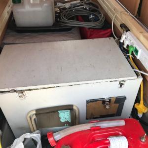 暑い日が出てきたのでキャンピングカーの発電機を回してエアコンの動作をチェックするょ!