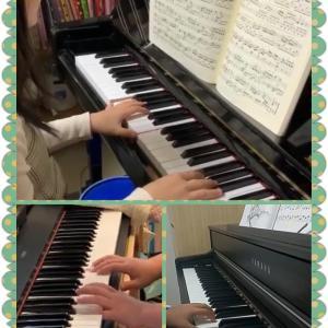 ピアノレッスン再開しております