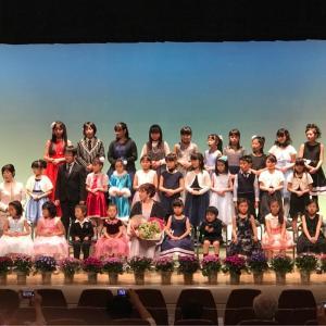 第4回Yumiピアノ教室発表会終了しました♪