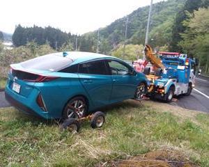 新しい車はスペアタイヤが積まれていないことが多い...それでいいのかな?