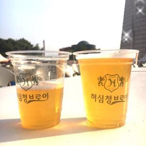 外ビール2