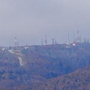 手稲山に初冠雪