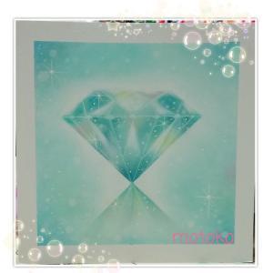 diamondパステルアート楽しくて