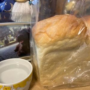 お供えにパン。
