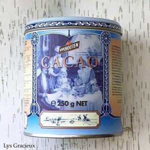 ★バンホーテンココアのビンテージ缶☆