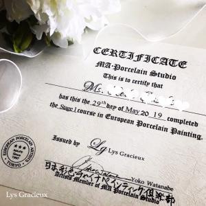 ★彩色チャイナ♪ご卒業おめでとうございます☆