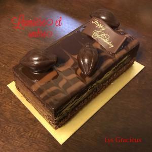 ★リュミエールオンブルのバースデーケーキ☆