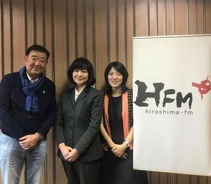 HFMだんRUNラジオに出演させていただきました。