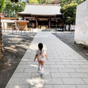 平塚八幡宮に行きました。