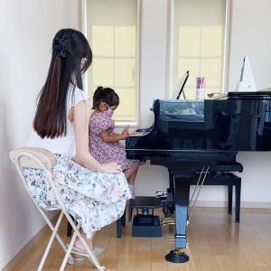 ピアノ教室に通っています。