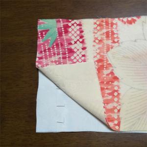 4枚を一度に「袖の仕立て・その2 袖口下の縫いから袖の丸み」