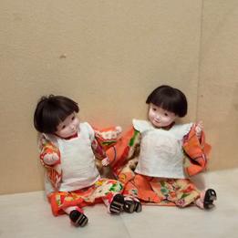 お人形の展示会に参加しています。/東京渋谷・NHKふれあいホールギャラリー