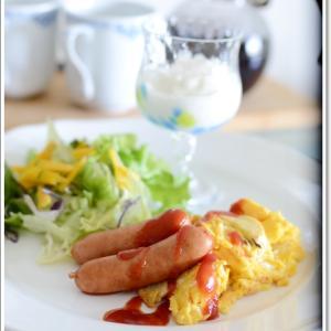 休日の朝食~♪