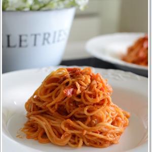 昼食はチーズたっぷりのスパゲティーナポリタン~♪
