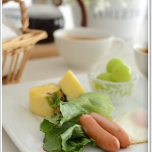 スープがメインの休日の朝食~♪