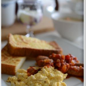 フレンチトーストで休日の朝食~♪