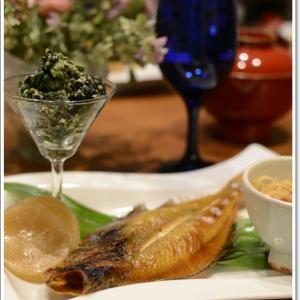 我が家の夕食は、お魚料理~♪