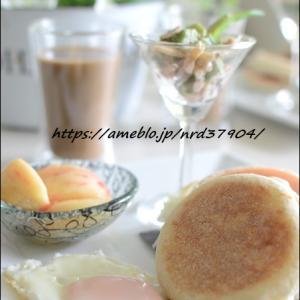 マフィンで休日の朝食~♪
