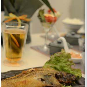 セカンドハウスでお魚料理です~♪