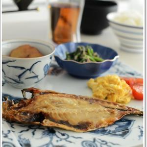 和食の休日の朝食~♪