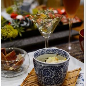 秋の食材で我が家の食卓~♪