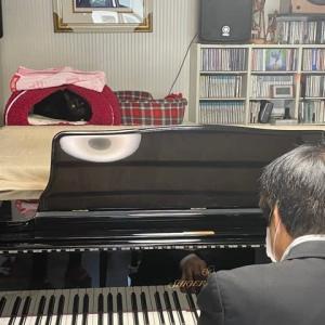 昨日はピアノの調律でした