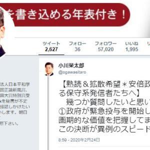 小川榮太郎「安倍政権批判に転ずる保守系発信者たちへ、幾つか質問したいと思います。」