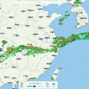 【動画】日本に洪水をもたらした雨雲、どう見ても中国大陸から流れてきている!
